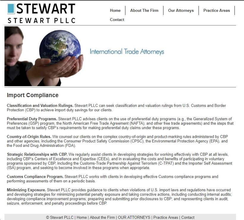 International Trade Lawyer Corey Stewart Claims To Hate Bad Trade
