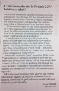 Boston Globe 1 Oct 2018