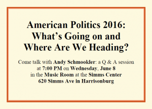 h-burg event on 6-8-16