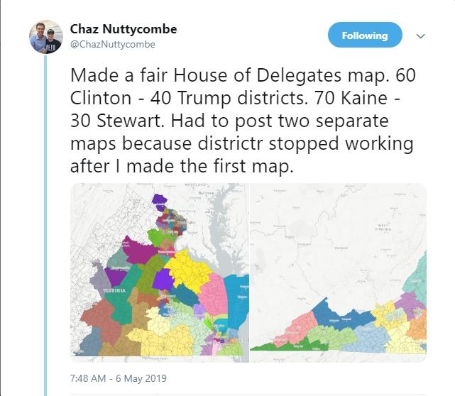 """Virginia Political Analyst Chaz Nuttycombe Draws """"Fair House ..."""