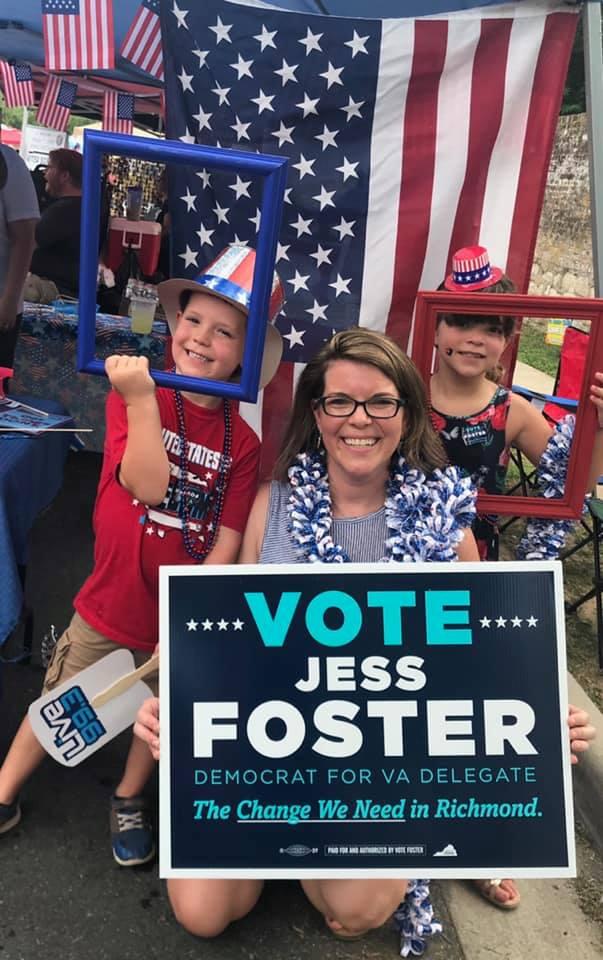 Photos, Video: Virginia Democratic Candidates, Elected