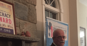Gerry Connolly at VADF meeting